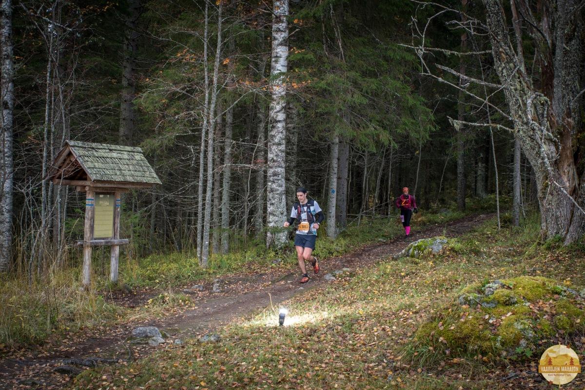 Vaarojen Maraton 43 km - kauden komein korkeusprofiili