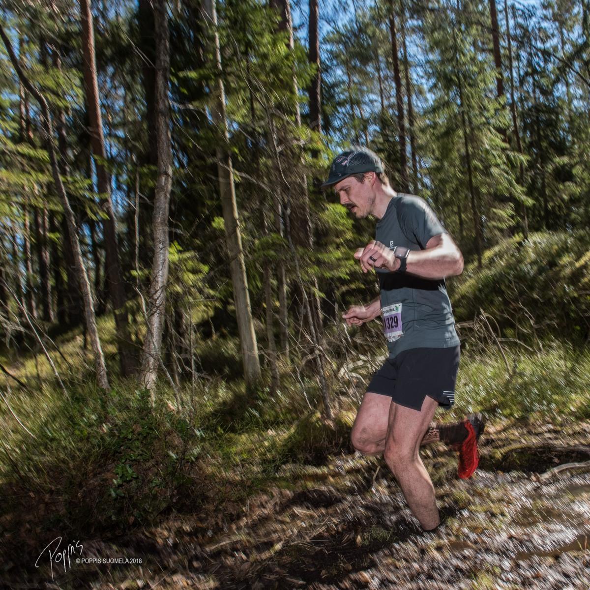 Aina aurinkovarma kohde - Bodom Trail 21 km
