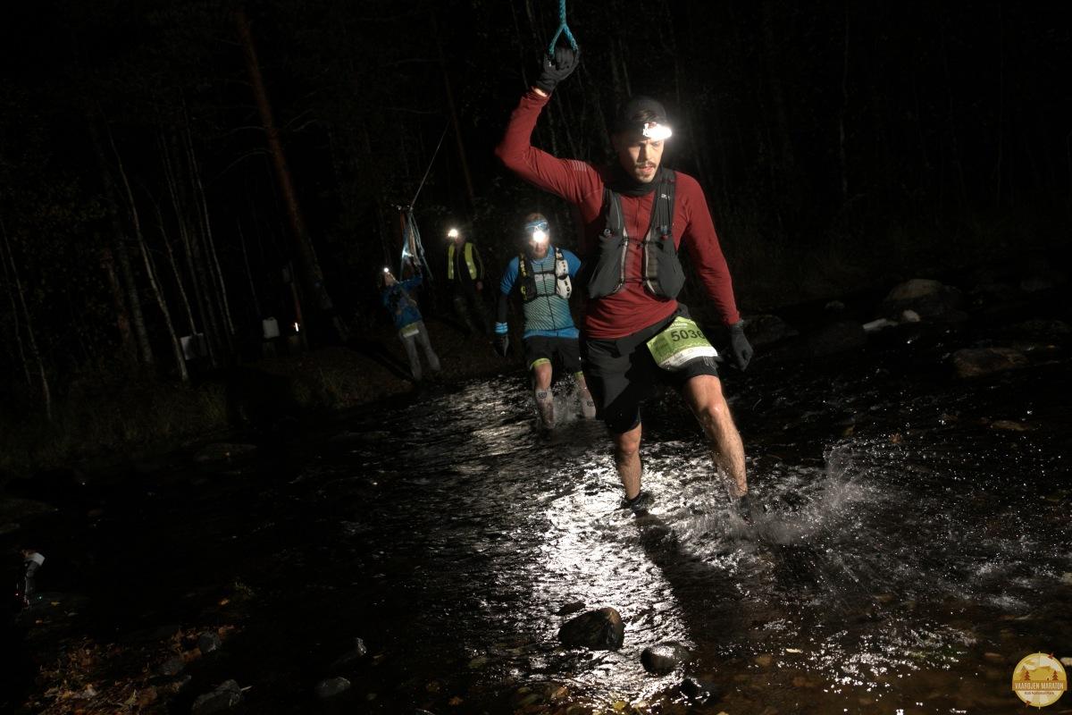Kaksi vuoristorataa - Vaarojen Maraton 130 km (DNF)