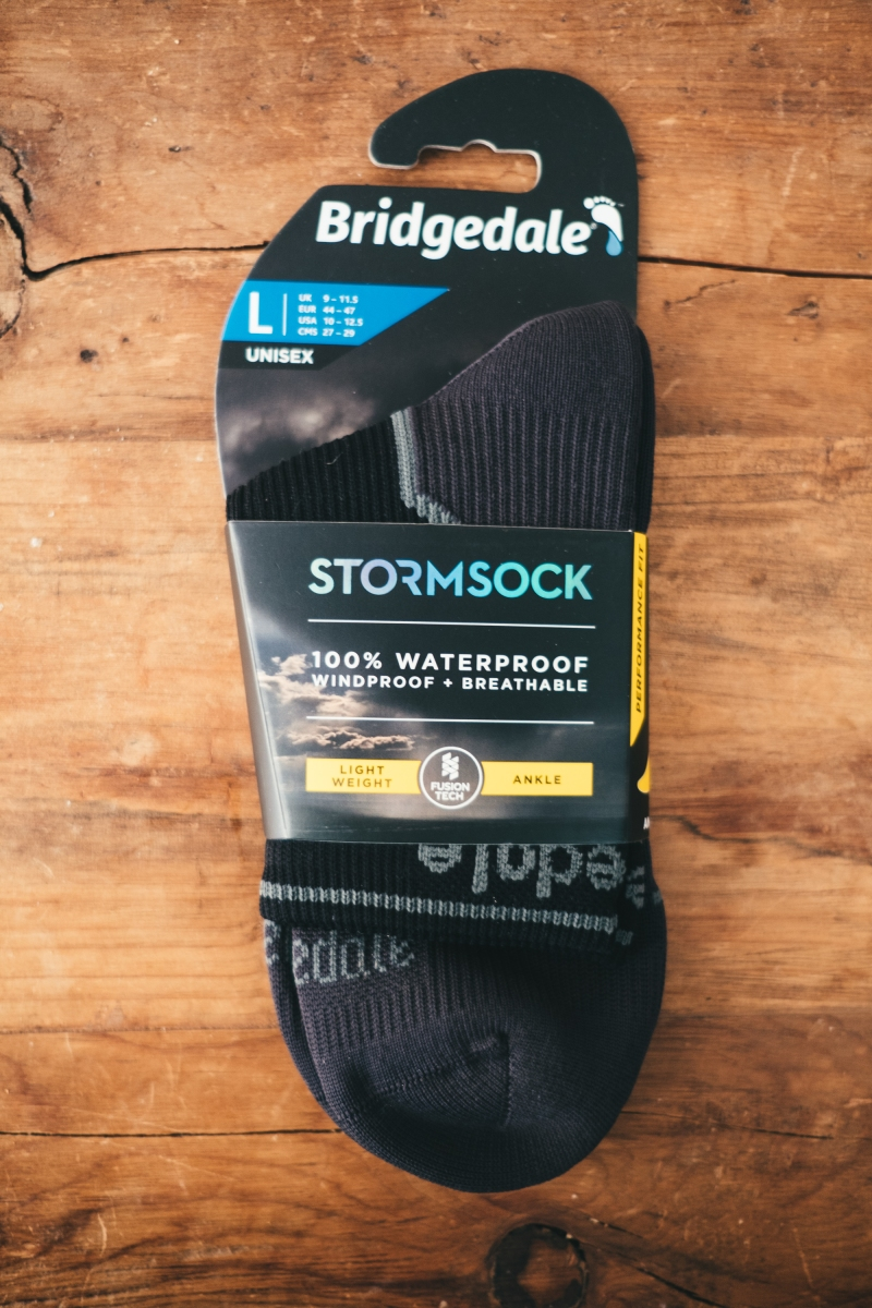 Bridgedale Stormsock Lightweigh Ankle - vedenpitävät sukat