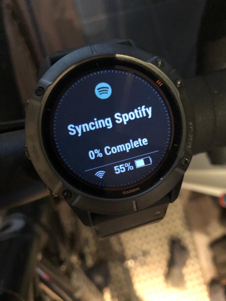 Spotifyn aloitus synkronointi